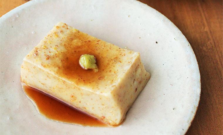 アマニ豆腐