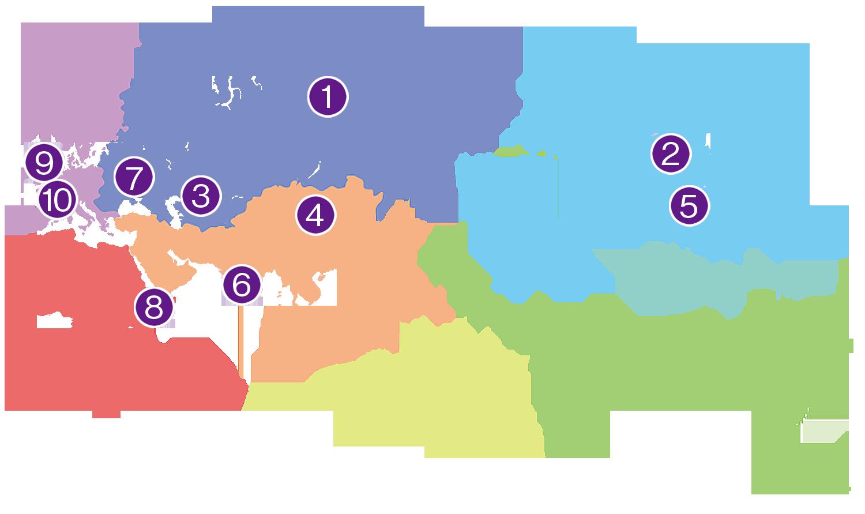 アマニの原産国